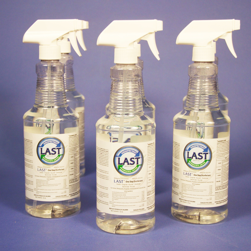 (1) Case 32oz  LAST Spray Bottles - Monthly Subscription